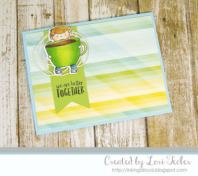 Better Together card-designed by Lori Tecler/Inking Aloud-stamps from Neat and Tangled
