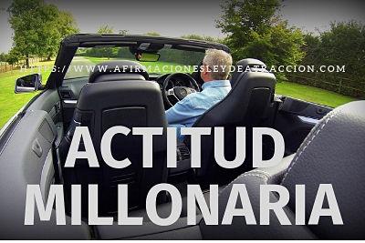 actitud millonaria