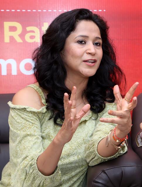 Asmita Sharma (actor of Gutrun Gutergu) during day 4 at Jagran Film Festival