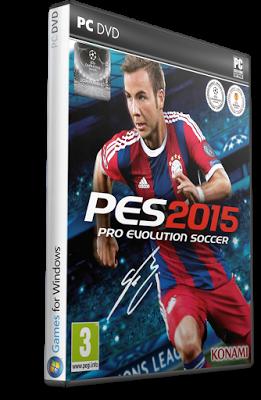 pes 2015 pc cover http://jembersantri.blogspot.com Pro Evolution Soccer 2015 RELOADED