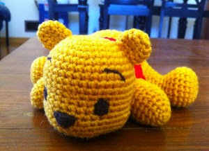 40% SALE Winnie the Pooh Amigurumi from BabesCreation on Etsy | 218x300