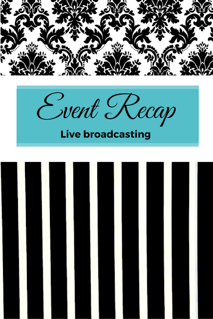 live broadcasting #eventmarketing, karmetic marketing, #eventsponsorship