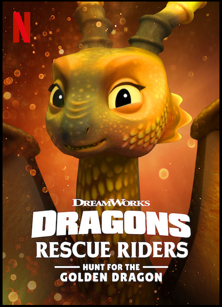 MOVIE: Dragons Rescue Rider Hunt For The Golden Dragon (2020)