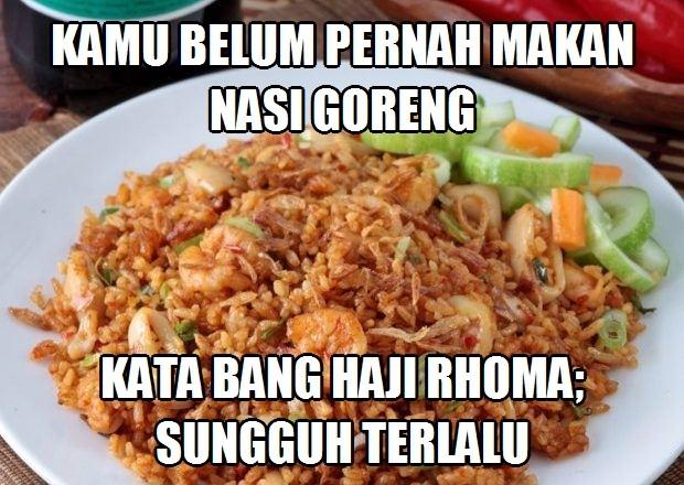 35 Meme Lucu Nasi Goreng