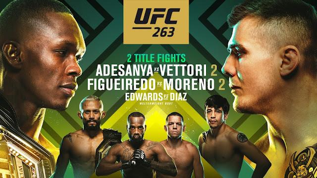 Ver UFC 263 Adesanya vs Vettori 2 En vivo Español Online