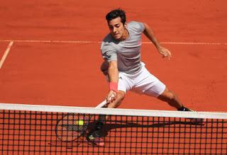 Cristian Garin In Action