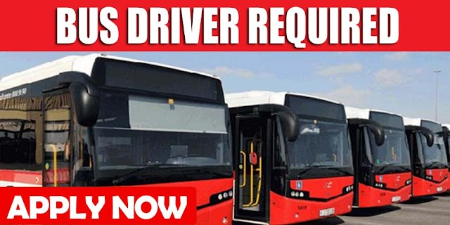 BUS DRIVER REQUIRED