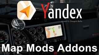 ats yandex navigator normal & night version map mods addons