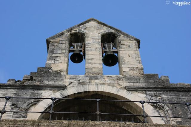 Particolare della Cappella di San Nicola sul Ponte Saint Benezet di Avignone