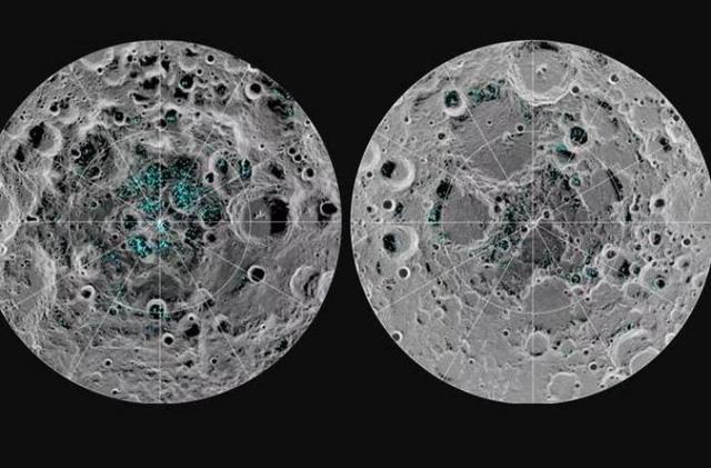 bulan memiliki banyak lubang