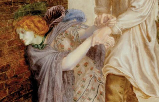 """""""Encontrada"""" por Dante Gabriel Rossetti, 1851. Heróis."""