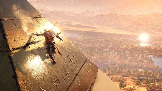 العرض الرسمي لإطلاق لعبة Assassin's Creed Origins