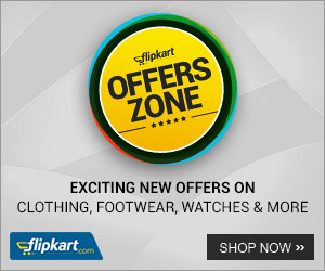 flipkart offers on clothing ,footrwear ,watches&more