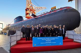 Kapal Selam Type 218SG Pertama AL Singapura