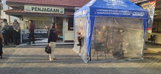 Cegah Covid-19, Polres Pelabuhan Makassar  Terapkan Protokol Kesehatan Ketat