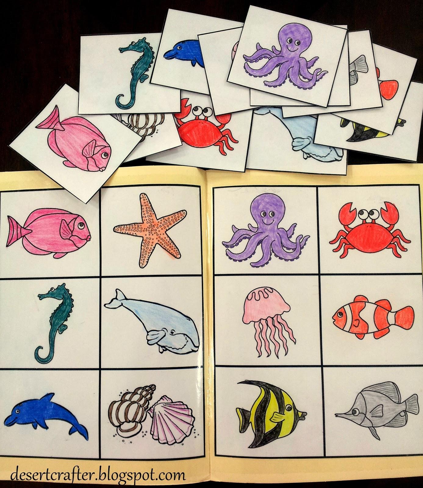 Desert Crafter More File Folder Games For Preschoolers