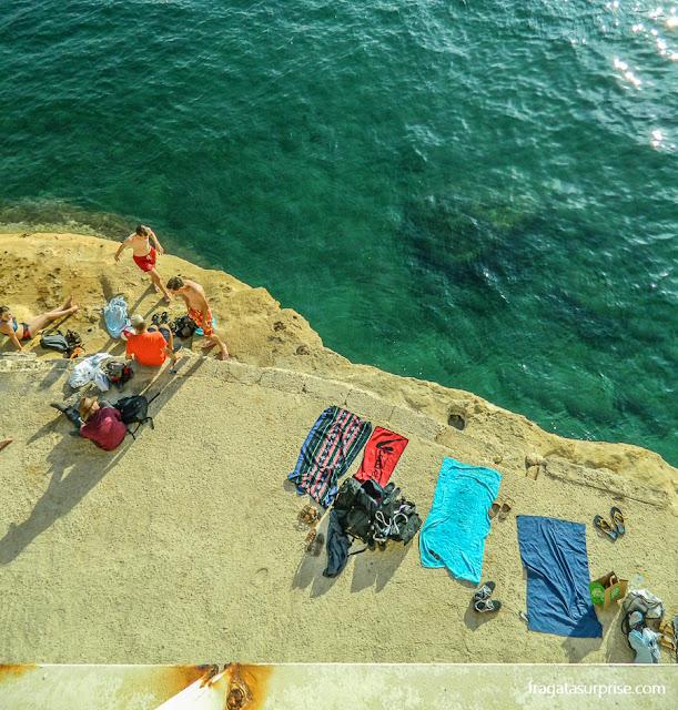 Praia de Tigné Point, Sliema, Malta