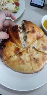 Nan Cheese Tarik Daging Sedap Di Restoran Abu Khalid , restoran abu khalid, nan cheese sedap di kulim, nan cheese daging, tempat makan sedap di Kulim,