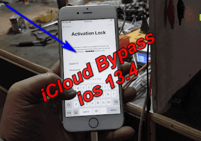 iCloud Bypass ios 13.4 Latest Security-13.4 iCloud Activation Unlock.
