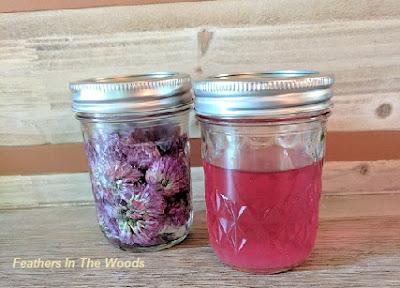 Chive blossom vinegar recipe