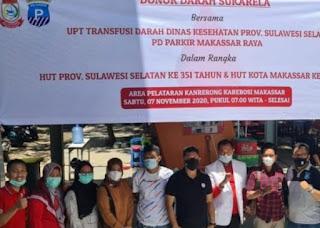 Dirut PD Parkir Makassar: Donor Darah Kegiatan Sosial Yang Memiliki Manfaat Bagi Masyarakat