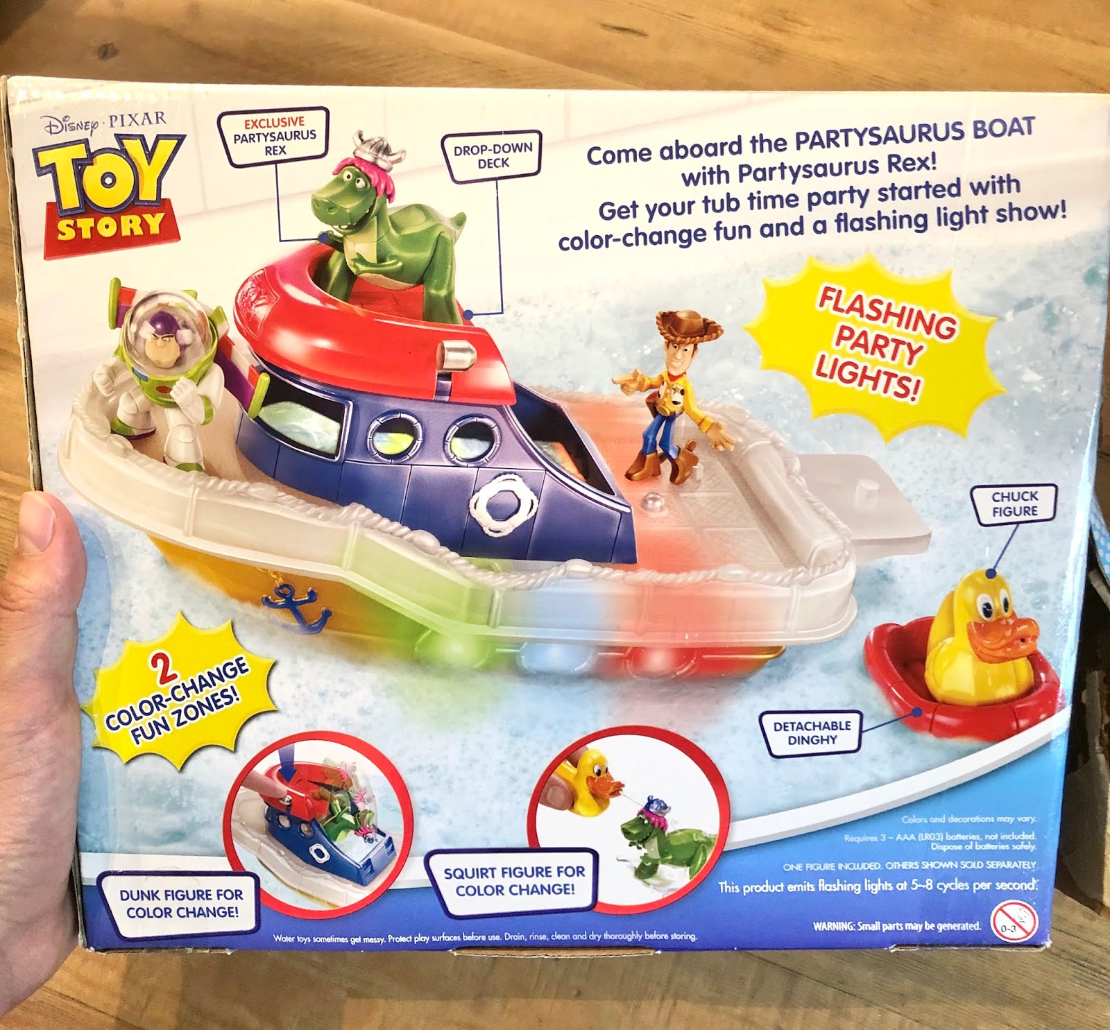 toy story Partysaurus Boat Playset