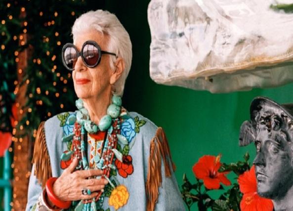 Iris Apfel, moda, bricomoda, creatividad,