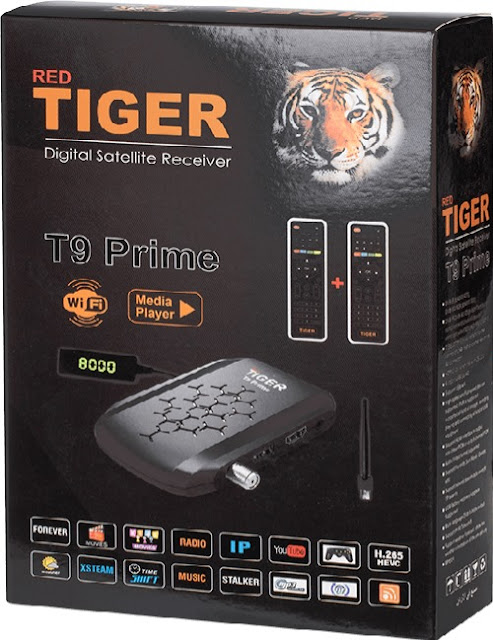 سعر ومواصفات رسيفر تايجر Tiger T9 Prime