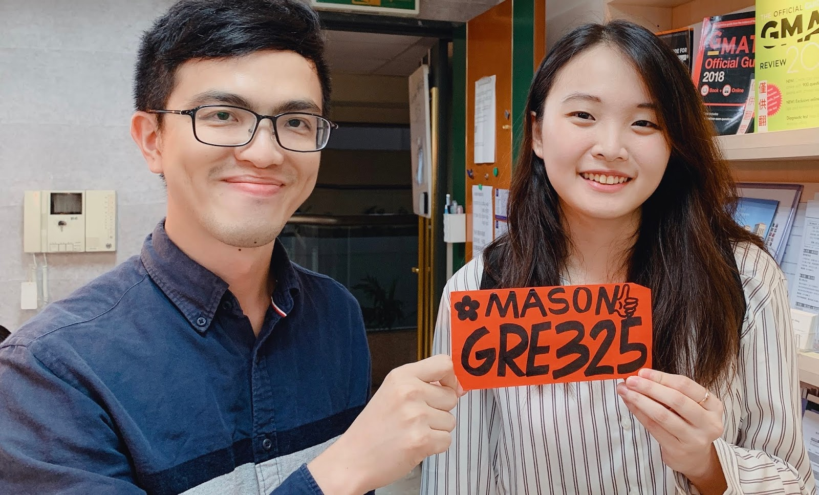 Mason GRE: 政大國貿上班族 GRE一戰325 作文AW4.0 感謝Mason GRE