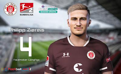 PES 2021 Faces Philipp Ziereis by CongNgo