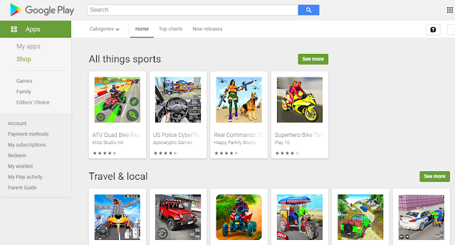 playstore apps