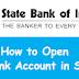SBI Savings Bank Online Account Application Process In Brief