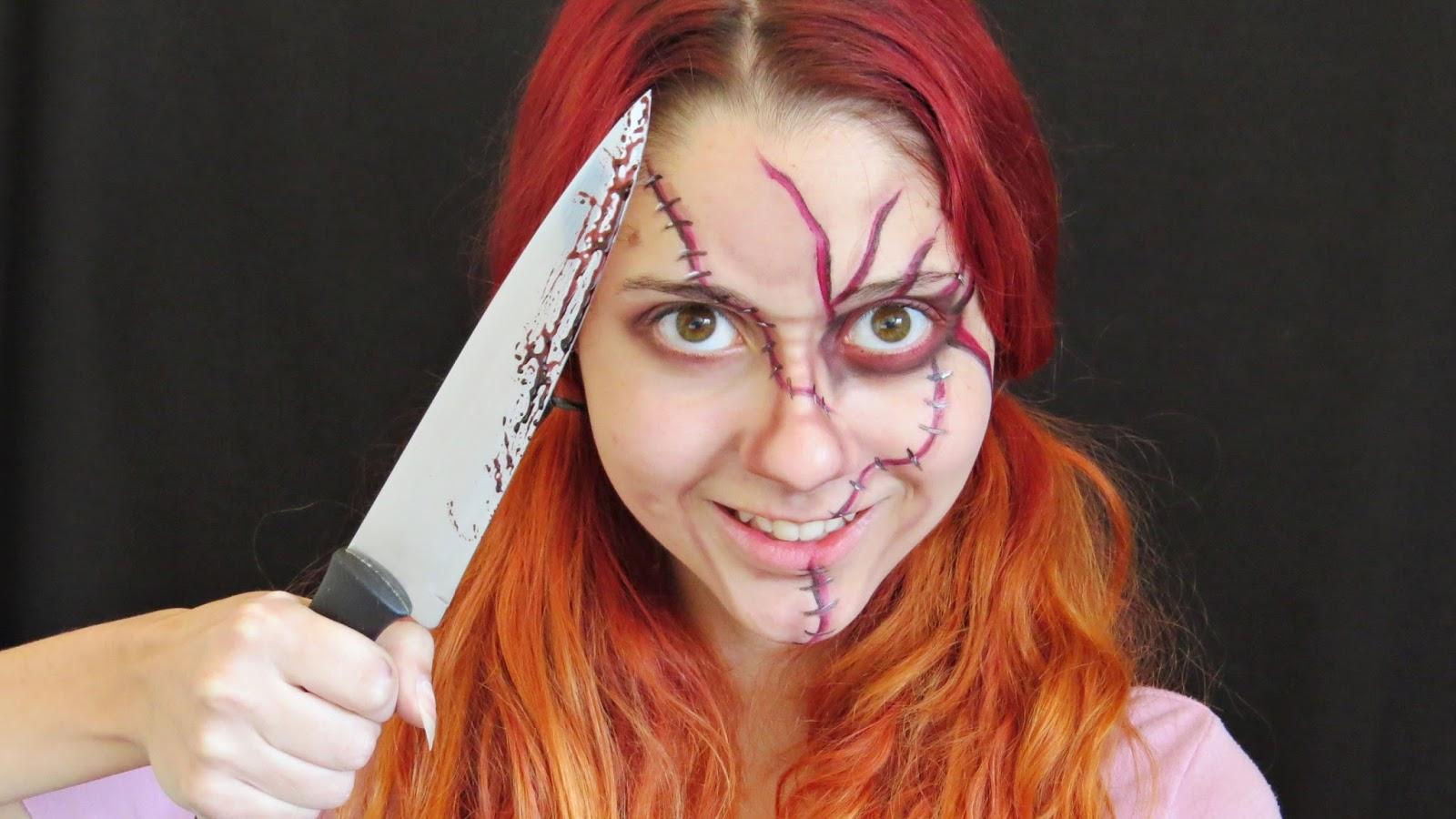 Jack Boneco Assassino Cool little b. | alternative fashion, d.i.y., beauty: makeup halloween