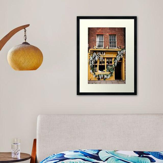 London Vertical Travel Art Print Home Decor