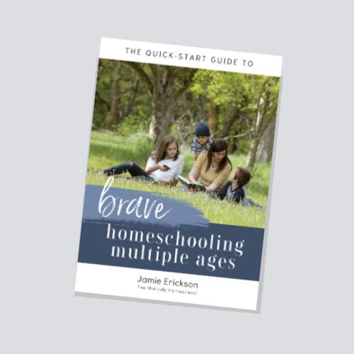 8 Keys to Teaching Multiple Ages in Your Homeschool #homeschooling #homeschool101