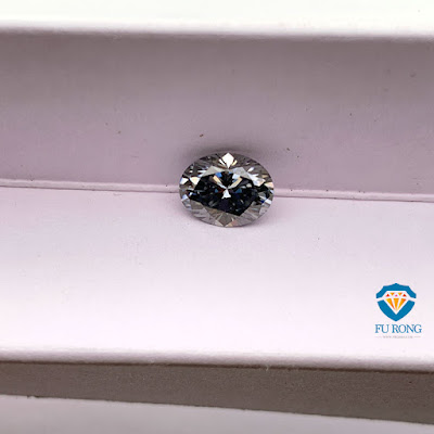 Loose-Moissanite-Grey-Color-Oval-Shape-Gemstone-Manufacturers