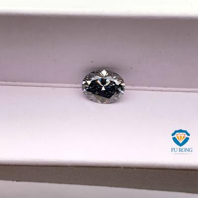 Loose-Moissanite-Grey-Color-Oval-Shape-Gemstone-Manufacturers
