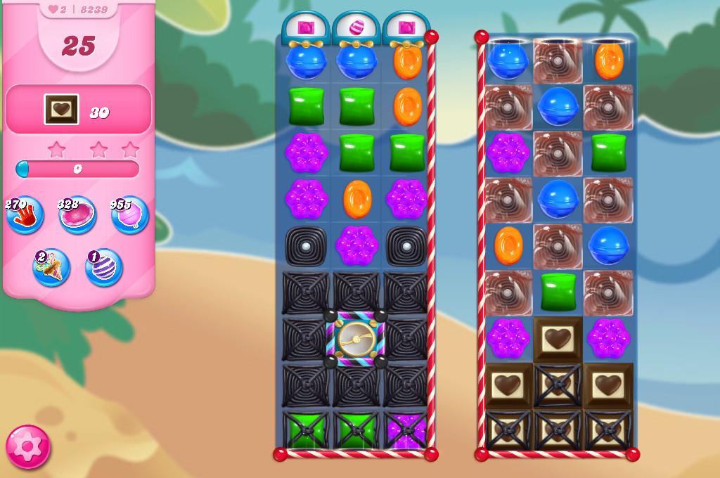 Candy Crush Saga level 8239