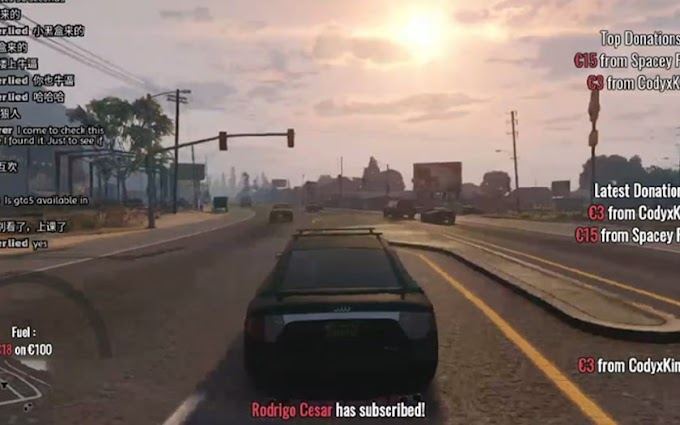 GTA 6: a youtubeur decides to drive in GTA 5 live 24/24 until his exit from the game