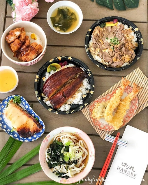 Hanare Japanese Restaurant KL food delivery