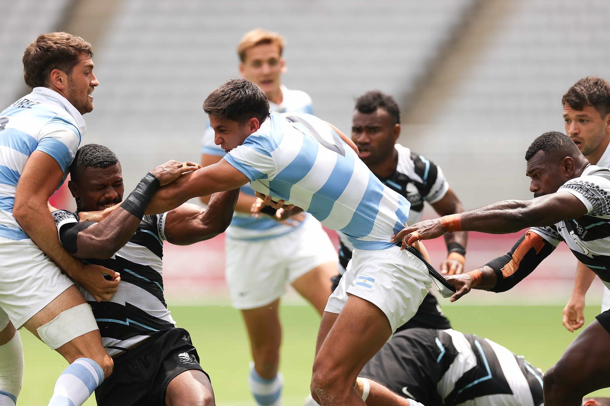 Los Pumas 7 pierden con Islas Fiji en semifinales y jugarán por el bronce en Tokio