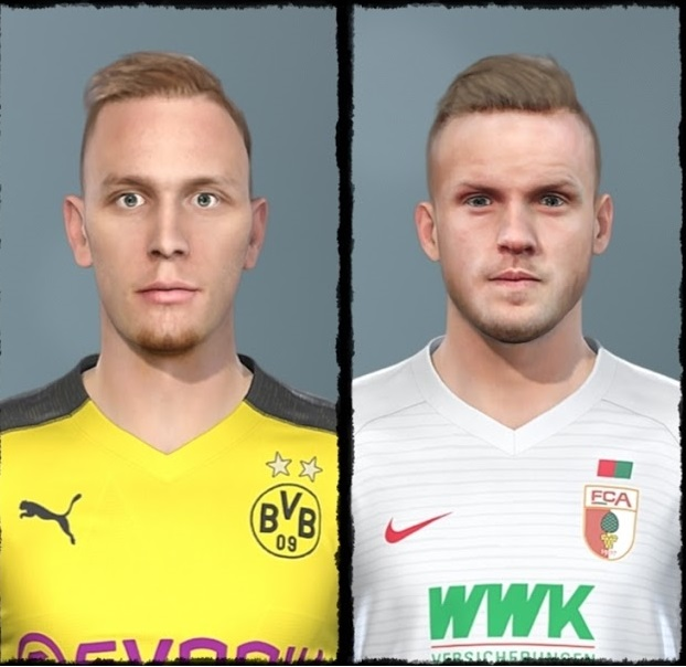 PES 2019 Bundesliga Mega Facepack ( 264 Faces ) for PTE