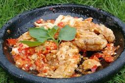 Resep Ayam Pedas Geprek
