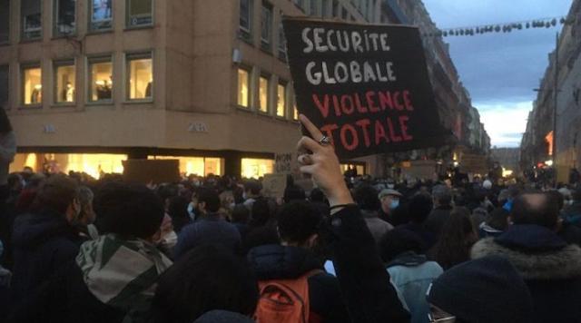 """مسيرة """"الحريات"""" في فرنسا: إصابة 62 شرطيا ودركيا"""