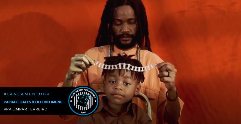 Ancestralidade negra inspira hit de Raphael Sales com Coletivo IMuNe