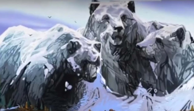bears and mountains