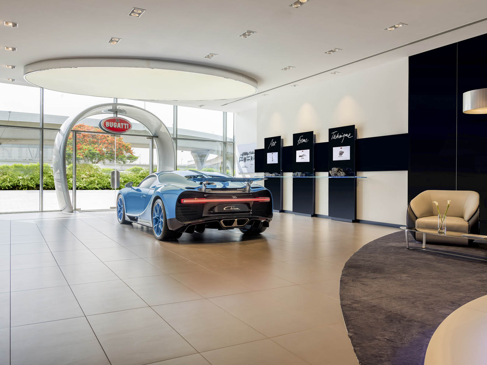 Bugattis Opened Its Largest Dealership In Thats Right