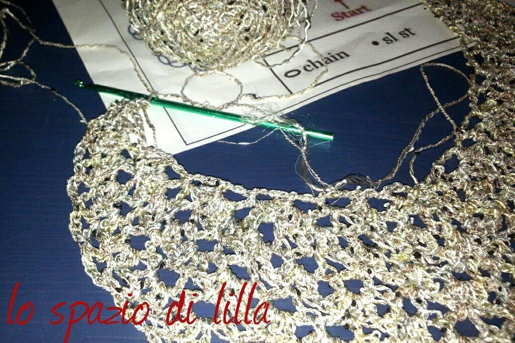 Lo Spazio Di Lilla Alla Ricerca Di Un Nuovo Scialle Crochet Bello E