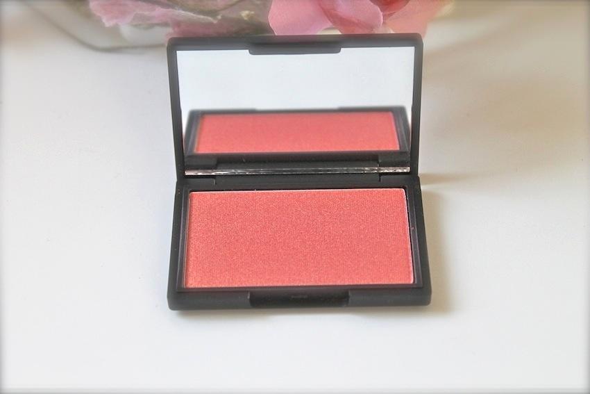 Sleek MakeUP Rose Gold Blush & A Comparison with Nars Orgasm