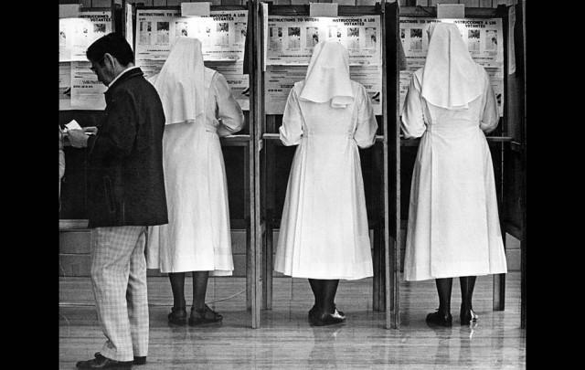 Voting Nuns